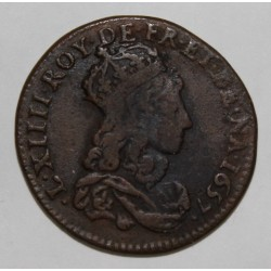 FRANCE - Gad 80 - LOUIS XV - LIARD DE FRANCE - 1657 I - LIMOGES