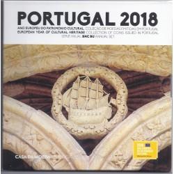 PORTUGAL - COFFRET EURO BRILLANT UNIVERSEL 2018 - 8 PIECES (3.88 euros)