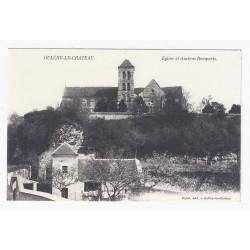 02210 - OULCHY LE CHATEAU - ÉGLISE ET ANCIENS REMPARTS