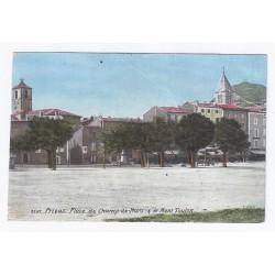 07000 - PRIVAS - PLACE DU CHAMP DE MARS - LE MONT TOULON