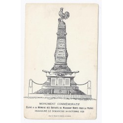 02630 - WASSIGNY - MONUMENT AUX MORTS - 1920