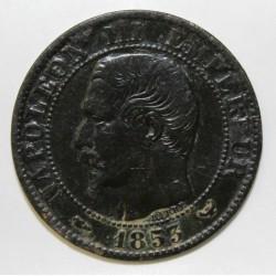 GADOURY 152 - 5 CENTIMES 1853 W Lille TYPE NAPOLEON III - KM 777