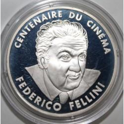 CENTENAIRE DU CINÉMA - 100 FRANCS 1995 - FREDERICO FELLINI - ESSAI - KM 1100