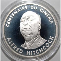 CENTENAIRE DU CINÉMA - 100 FRANCS 1995 - ALFRED HITCHCOCK - ESSAI - KM 1088