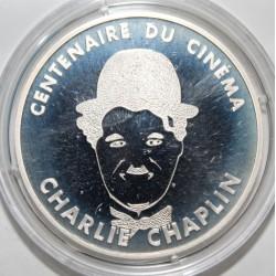 CENTENAIRE DU CINÉMA - 100 FRANCS 1995 - CHARLIE CHAPLIN - ESSAI - KM 1076