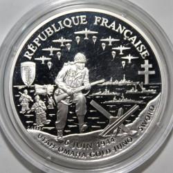 1 FRANC 1993 - CENTENAIRE DU DEBARQUEMENT - ESSAI - KM 1014