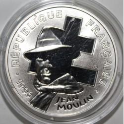 SÉRIE LA LIBERTÉ RETROUVÉE - KM 1023 - 100 FRANCS 1993 - JEAN MOULIN - ESSAI