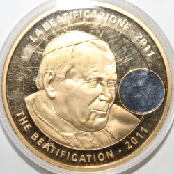 MEDAILLE - JEAN PAUL II - 1978-2005 - LA BEATIFICATION 2011 - BRONZE FLORENTIN
