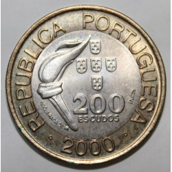 PORTUGAL - KM 726 - 200 ESCUDOS 2000 - OLYMPIC GAMES