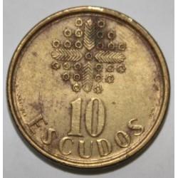 PORTUGAL - KM 633 - 10 ESCUDOS 1987