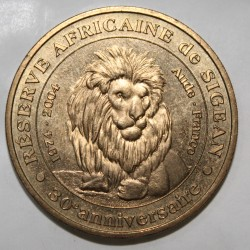 11 - SIGEAN - RESERVE AFRICAINE - LE LION - MDP - 2004