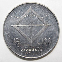 ITALIE - KM 102 - 100 LIRE - 1974 - GUGLIELMO MARCONI