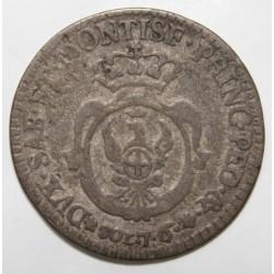 ITALIE - SARDAIGNE - KM 83 - 7.6 SOLDI - 1793 - VICTOR AMEDÉE III