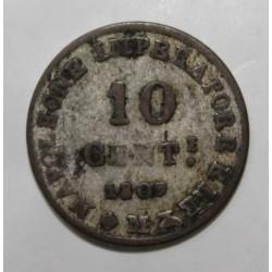 ITALIE - KM C 4 - 10 CENTESIMI - 1809 - NAPOLÉON I
