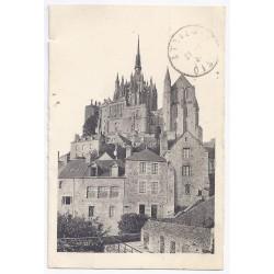 50170 - LE MONT SAINT MICHEL - ABBAYE - VUE PRISE DES REMPARTS