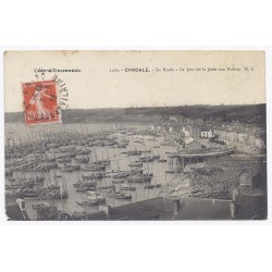 35260 - CANCALE - LA HOULE - LE JOUR DE LA JETÉE AUX HUITRES