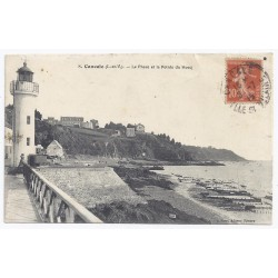 County 35260 - CANCALE - THE LIGHTHOUSE AND THE POINTE DU HOCQ
