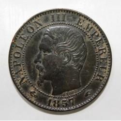 GADOURY 152 - CINQ CENTIMES 1857 A Paris TYPE NAPOLEON III - KM 777