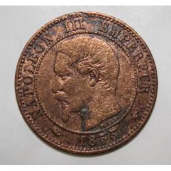 GADOURY 103 - 2 CENTIMES 1855 A Paris TYPE NAPOLEON III - KM 776 - Chien