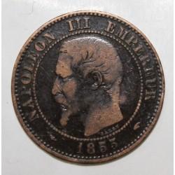 GADOURY 103 - 2 CENTIMES 1855 A Paris TYPE NAPOLEON III - KM 776