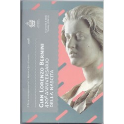 SAINT-MARIN - 2 EURO 2018 - 420ème Anniversaire de Gian Lorenzo Bernini