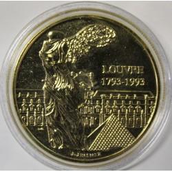 FRANCE - MÉDAILLE - LE LOUVRE - BICENTENAIRE 1793 1993