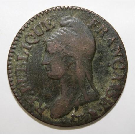 GADOURY 126 - CINQ CENTIMES 1798 AN 7/5 BB Strasbourg TYPE DUPRE - KM 640