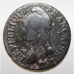 GADOURY 126 - CINQ CENTIMES 1798 AN 7/5 A Paris TYPE DUPRE - KM 640