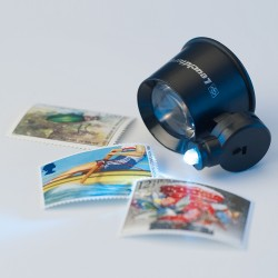 MAGNIFIER 10X MAGNIFICATION, INCLUDING 1 LED - REF 332317