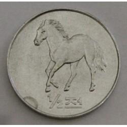 CORÉE DU NORD - KM 183 - 1/2 CHON 2002 - CHEVAL