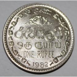 SRI LANKA - KM 136.2 - 1 RUPEE 1982