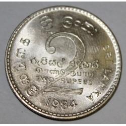 SRI LANKA - KM 147 - 2 RUPEES 1984