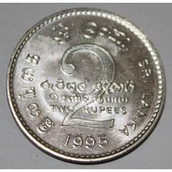 SRI LANKA - KM 155 - 2 ROUPIES 1995 - FAO