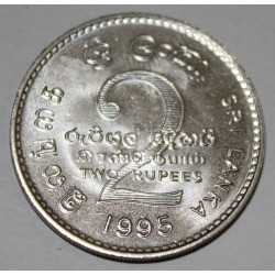 SRI LANKA - KM 155 - 2 RUPIES 1995 - FAO