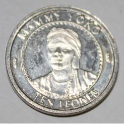 SIERRA LEONE - KM 44 - 10 LEONES 1996