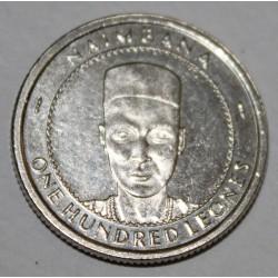 SIERRA LEONE - KM 46 - 100 LEONES 1996