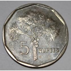 SEYCHELLES - KM 51.2 - 5 ROUPIES 1997