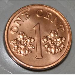 SINGAPOUR - KM 98 - 1 CENT 1997
