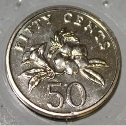 SINGAPOUR - KM 102 - 50 CENTS 1999