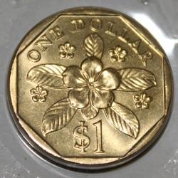 SINGAPOUR - KM 103 - 1 DOLLAR 1997