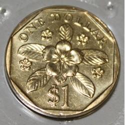 SINGAPOUR - KM 103 - 1 DOLLAR 1999
