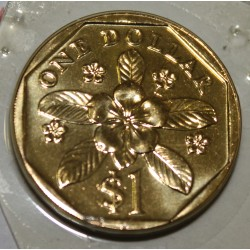 SINGAPOUR - KM 103 - 1 DOLLAR 2003