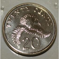 SINGAPOUR - KM 101 - 20 CENTS 2003