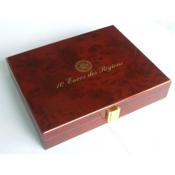 PREMIUM BOX FOR 10 EURO FROM THE REGIONS WITHOUT CAPSULES - 5798 / SAFE