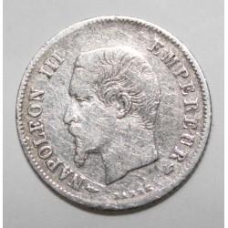 GADOURY 305 - 20 CENTIMES 1854 A Paris TYPE NAPOLEON III - KM 778