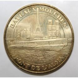 County 75 - PARIS - BRIDGE OF L'ALMA - BATEAUX MOUCHES - MDP - 2008