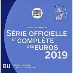 FRANCE - COFFRET EURO BRILLANT UNIVERSEL CLASSIQUE 2019 - 8 PIECES