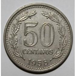 ARGENTINE - KM 56 - 50 CENTAVOS 1958