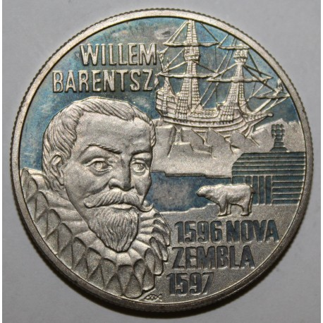 PAYS BAS - KM X 121 - 5 EURO 1996 - BEATRIX
