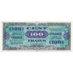 FAY VF 25/5 - 100 FRANCS VERSO FRANCE - 1945 - SÉRIE 5 - PICK 105s